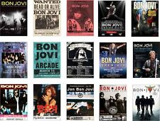 Bon Jovi Concert Posters Trading Card Set  Jon FREE UK POSTAGE