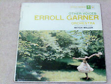 "Erroll Garner*Other Voices*Columbia Cl 1014*1957*M0No*12""33 Rpm Lp Big Band*Jazz"