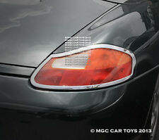Porsche Boxster & Boxster S Taillight Chrome Trim Upgrd 1996-2004 (One Pair)