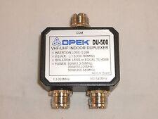 OPEK DU-500UF 2-Port HF-VHF (including 222-225MHz) / UHF ANTENNA DUPLEXER