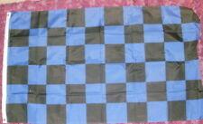 Blue/Black check flag 5 x 3 Inter Milan Man Utd Away sports rugby football bnip