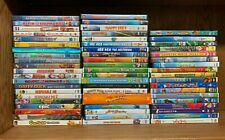 B51 Lot of 60+ Kids Family Movies Dvds Animated Shrek Stuart Little Madagascar