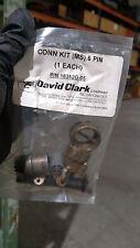 David Clark Connector Kit (MS) 6 PIN