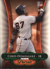 2010 TRISTAR Pursuit Green #31 Chris Dominguez/25