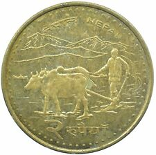 COIN NEPAL, 2 RUPEES, 2009    #WT25505