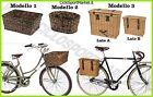 Cesto Cestino VIMINI Anteriore / Posteriore - Attacco portapacco/portacesto bici