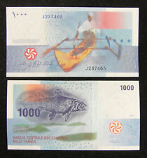 Comoros Paper Money 1000 Francs 2005 Unc