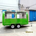 Food trailer 350x200x210CM(LxWxH) Brand new never been use many accessories