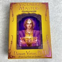 Ascended Masters Oracle Cards 44-card Deck w/Guidebook Authentic OOP D. Virtue