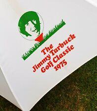 New listing Vintage Golf Umbrella Jimmy Tarbuck Classic 1975