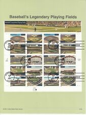 3510-19 Legendary Playing Fields USPS First Day Commemorative Page