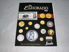 Coin Collector Catalog Stacks Numismatic US Gold Medals Auction Book Eldorado