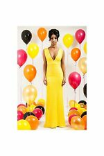 V-Neck Sleeveless Size Tall Party Dresses for Women