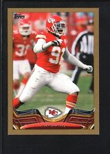 TAMBA HALI 2013 TOPPS MINI #171 GOLD PARALLEL CHIEFS SP #33/58