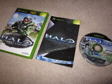 Halo Combat Evolved first print/black label (Xbox/360/One/X) 1 i no sticker RARE