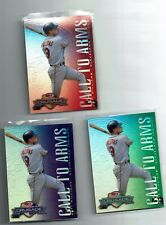 Matt Williams 1998 Donruss Crusade CALL TO ARMS Set (Red Purple & Green) Max 25!