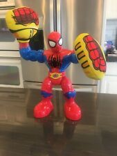 Boxing Glove Spiderman - talking and twists - kapow - used - working  Mint Cond
