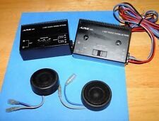 /////ALPINE MOBILE ELECTRONICS MODEL 6560 TWEETERS & CROSSOVERS ONLY TESTED USED
