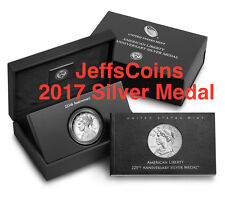 2017 P American Lady Liberty 225th Anniversary SILVER Medal Proof 1oz 99.9% 17XB