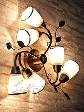ART NOUVEAU plafonnier Style Art Nouveau 6146 6-flmg bronze plafonnier luminaire