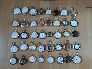 Taschenuhren  -  Sammlung - alle abgebildet