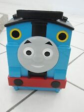 Thomas The Train Case withbuilt in track holds appx. 10+ trains blue