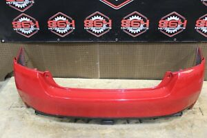 2018 SUBARU WRX & STI 2015-2020 OEM REAR BUMPER RED #17