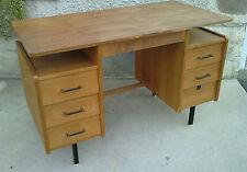 bureau design 50/60 hitier ? desk metal