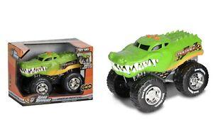 "Road Rippers Bigfoot Wheelie Crocodile Pick Up + Sound Lge Model  9"" 23cm BNIB"