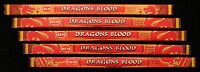 40 Sticks 5 Packs DRAGONS BLOOD Exotic Dragon Scented Incense Insence HEM Bulk