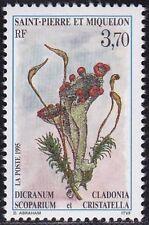 SAINT PIERRE ET MIQUELON N°611** FLEUR / FLOWER TB, 1995 SPM MNH