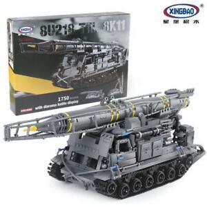 Xingbao XB-06005  8U218 TEL 8K11 Tank Building Block Set 1750 Pieces
