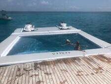 Inflatable Jetski Seabob Docks Yacht Inflatable platform