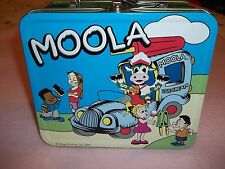 Metal Lunch Box/storage Moola Ice Cream Tin 2004 Image Products Inc