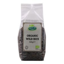 Organic Wild Rice 500g Certified Organic