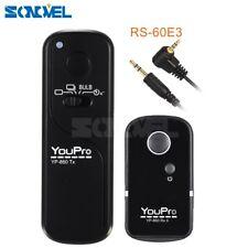 Wireless Shutter Release Remote Control For Canon Rebel T7i T6i T6S T5i RS-60E3