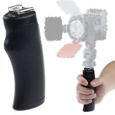 Hand hold LED Flash Bracket Hot Shoe Mount Grip for DSLR Camera DV Camcorder