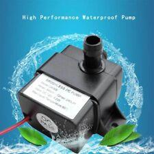Waterproof Ultra Quiet Water Pump Brushless Car Submersible Fountain Fish Tank