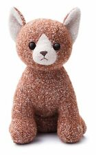 "Aurora Fabbies Nutmeg Tabby Cat Soft Toy 8"" 60628"