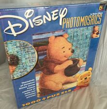 Winnie the Pooh Photomosaics Puzzle Disney Honey Pot 1000 Piece New Sealed