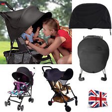 UV UPF50+ Sun Shade Sun Canopy For Baby Buggy/Stroller/Pram Pushchair Car Seat