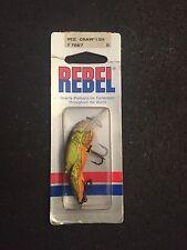 """Rebel Wee Crawfish 2"""" 1/5oz Dives 4-6 Feet F7667"""