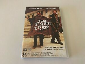 The Fisher King Robin Williams Drama Comedy Movie DVD