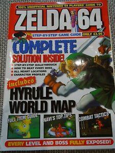 Zelda 64 Step-by-Step Game Guide Magazine