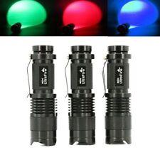 Linternas llavero color principal negro LED para acampada y senderismo