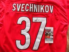 Andrei Svechnikov Autographed Signed Carolina Hurricanes Jersey JSA Cert COA