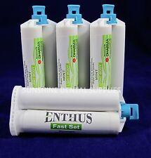 Enthus LIGHT BODY VPS Impression Material FAST Set 4 X 50ML Cartridges PVS