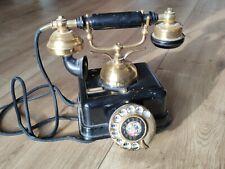 Antikes Telefon Messing Vermittlungsapparat - original - um 1910-1930