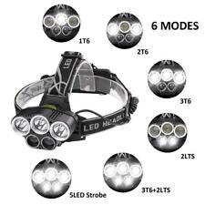 Super Hellste 90000LM 5X XM-L T6 LED Scheinwerfer Kopf Licht Taschenlampe Lampe
