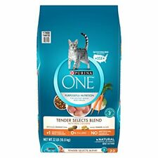 Purina One Tender Selects Blend With Real Chicken Adult Dry Cat Food - 22 Lb